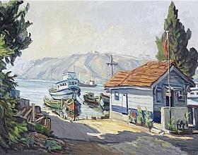 Feridun Saraçoğlu – Büyükdere Sahil'inde Sabah