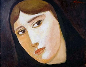 Nuri İyem – Kadın Portresi