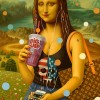 Alex Gross – Mona Lisa