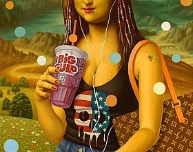 Alex Gross – Mona Lisa