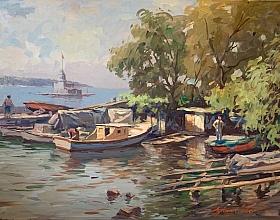 10. Ayhan Türker – Balıkçı Barınağı ve Kız Kulesi