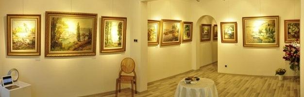 Türker Art kapılarını Ayhan Türker sergisiyle açtı