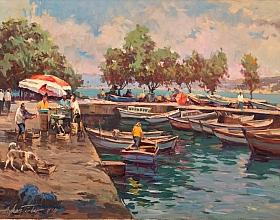 Ayhan Türker – Yeniköy'de Balıkçı Barınağı
