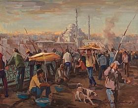 Ayhan Türker – Köprüde Balık Avlayanlar