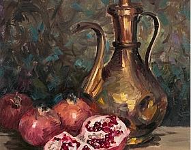 Ayhan Turker – Pirinç İbrik ve Narlar