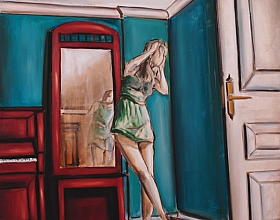 Hakan Kalay – Aynadaki Kadın I