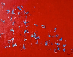 Nursel Birler Carroll – Red Wall I