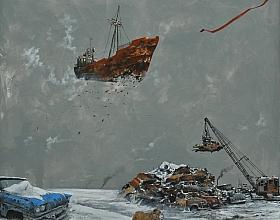 Serdar Akkılıç – Nuh'un Gemisi (Hurdalık)