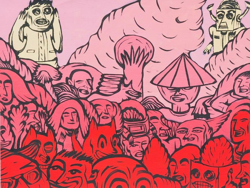 Donald Abraham – Burning Planet / 420