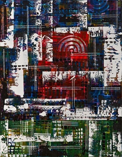 Aslı Vural – Kompozisyon XIII