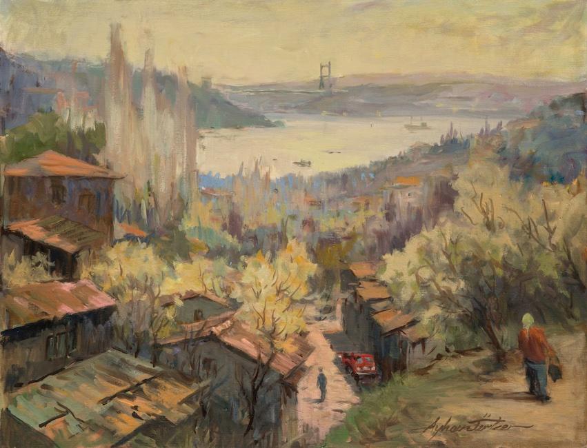 Ayhan Türker – Arnavutköy Sırtlarından