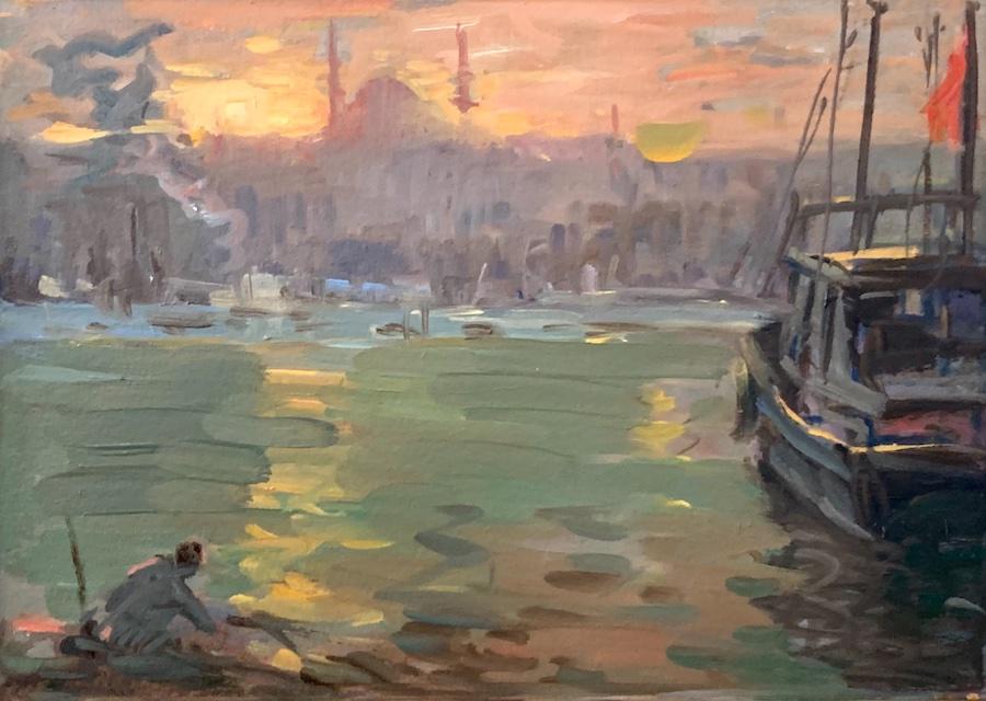 Ayhan Türker – Haliç