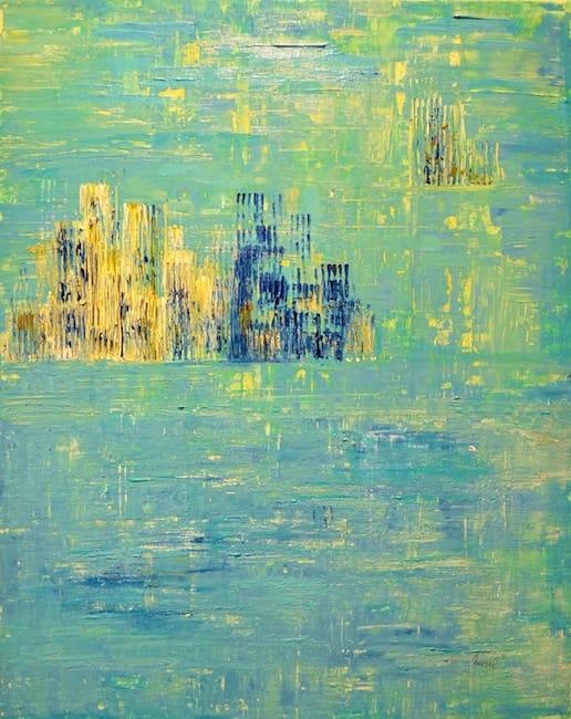 Nursel Birler Carroll – Turquoise City II